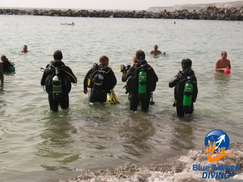 Curso open water aprender a bucear en tenerife