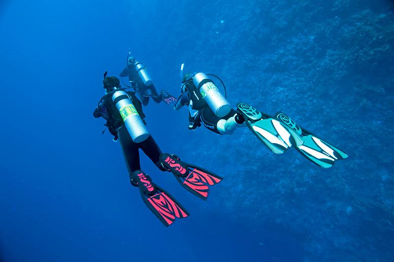 Buceo profundo Tenerife